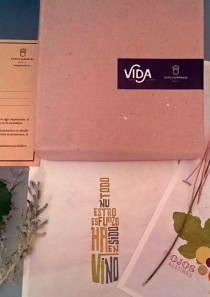Vida #3.<br>Gift box + wine bottle exclusive edition.
