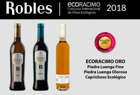 Bodegas Robles wins three Gold Medals at Ecoracimo 2018