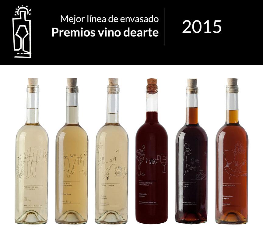 <em>labotelladelvino</em>, mejor línea de envase Premios vino DEARTE 2015.
