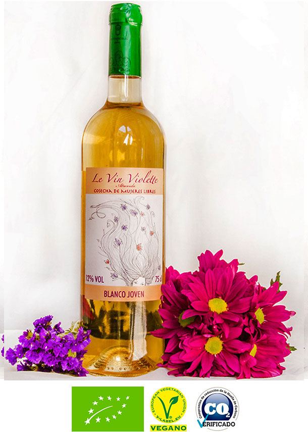 Le vin violette / Blanco joven