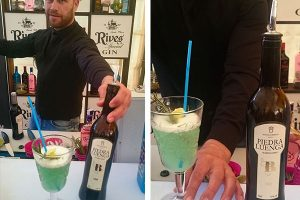 Cocktail de Fino con Ginebra