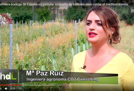 La primera bodega de España en calcular su huella de carbono.