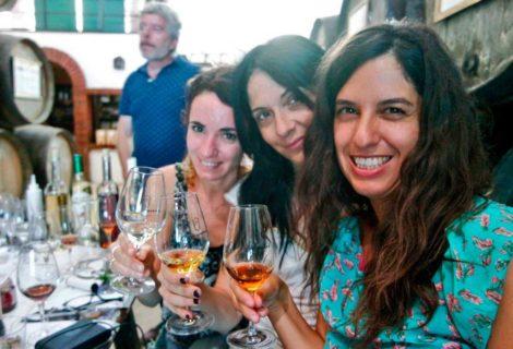 Visita bloggers de viajes a Bodegas Robles