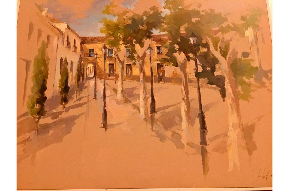 I Premio Nacional de Pintura Rápida al Aire Libre «Ciudad de Montilla: Memorial José Santiago Garnelo y Alda»