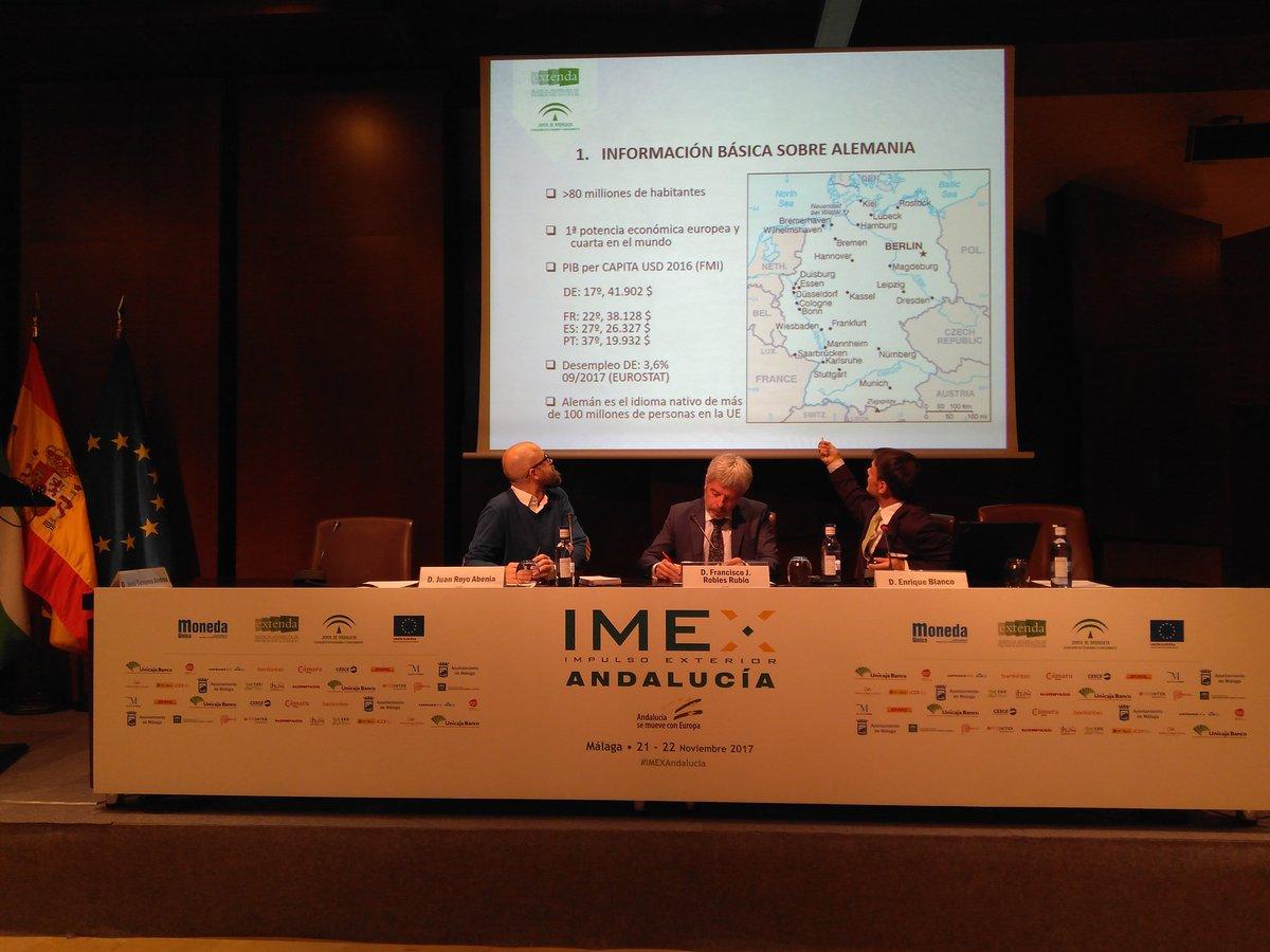 Francisco Robles en IMEX Andalucía, la mayor feria de negocio internacional.