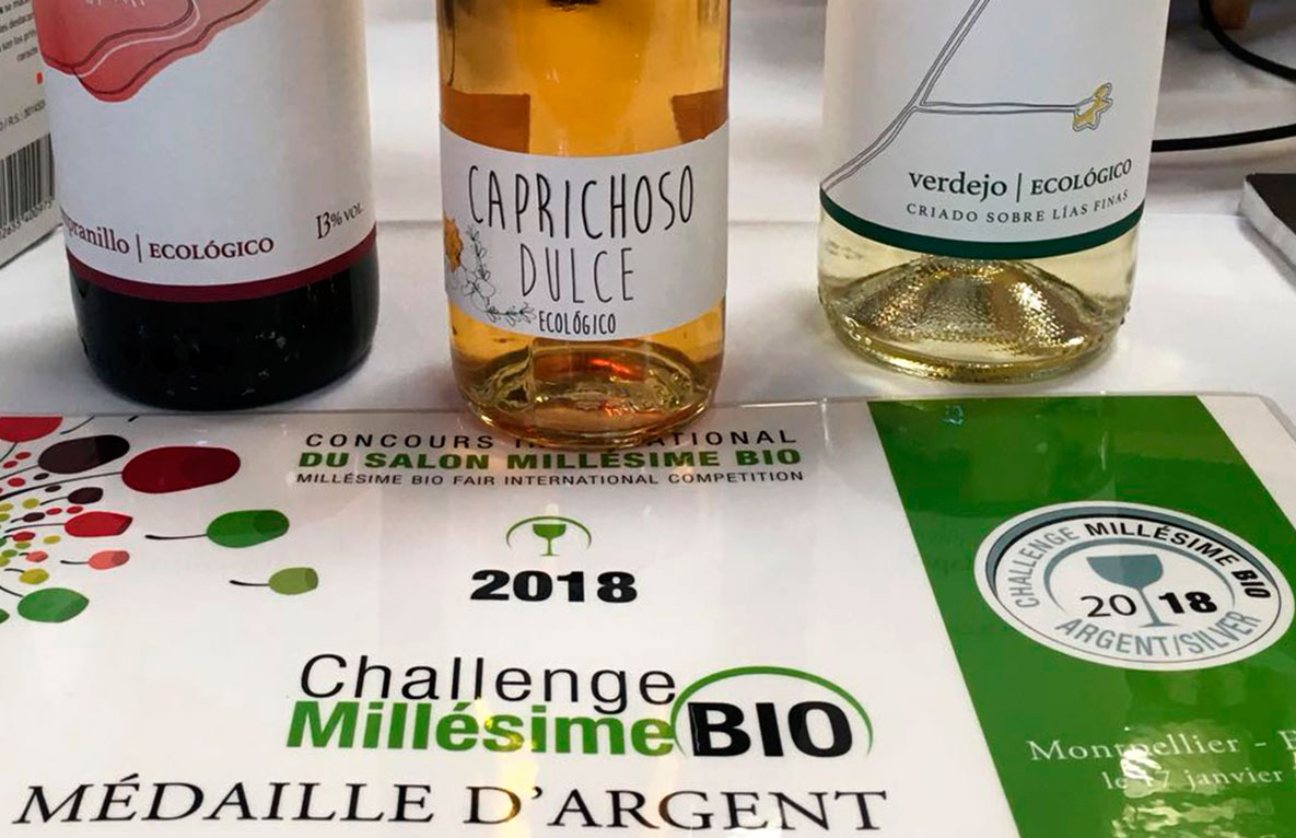 Caprichoso Bio premiado en la feria internacional de vinos más original.