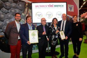 El Fino ecológico de Bodegas Robles, uno de los tres únicos Gran Oro concedidos en Biofach 2018