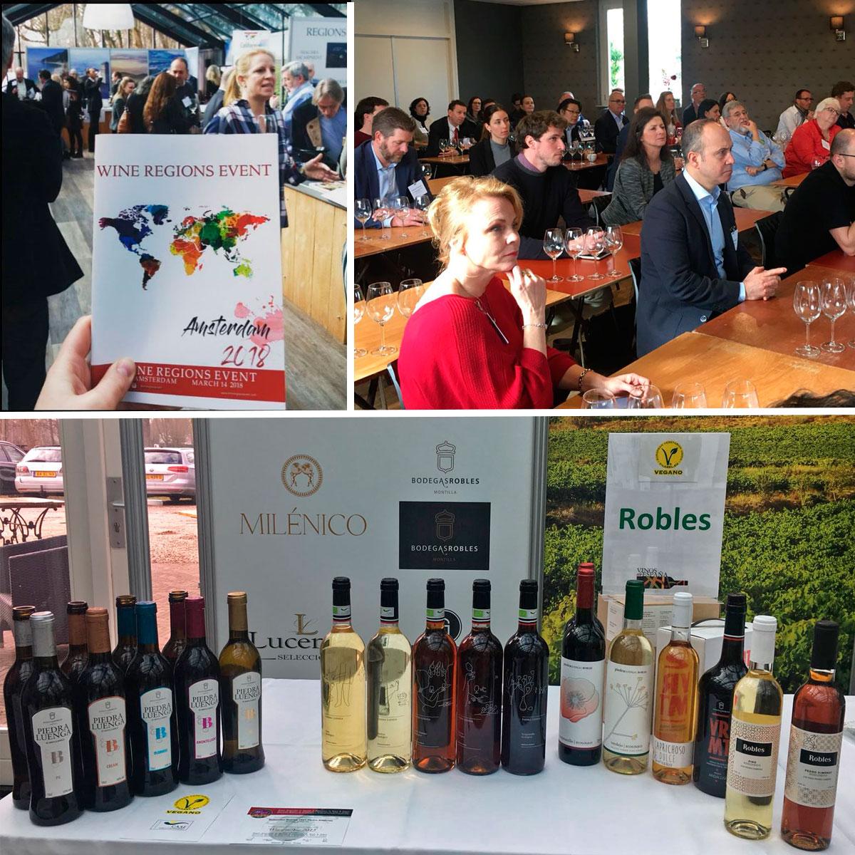 El Instituto de Comercio Exterior (ICEX) selecciona a Bodegas Robles para presentar sus vinos y vinagres ecológicos en Holanda