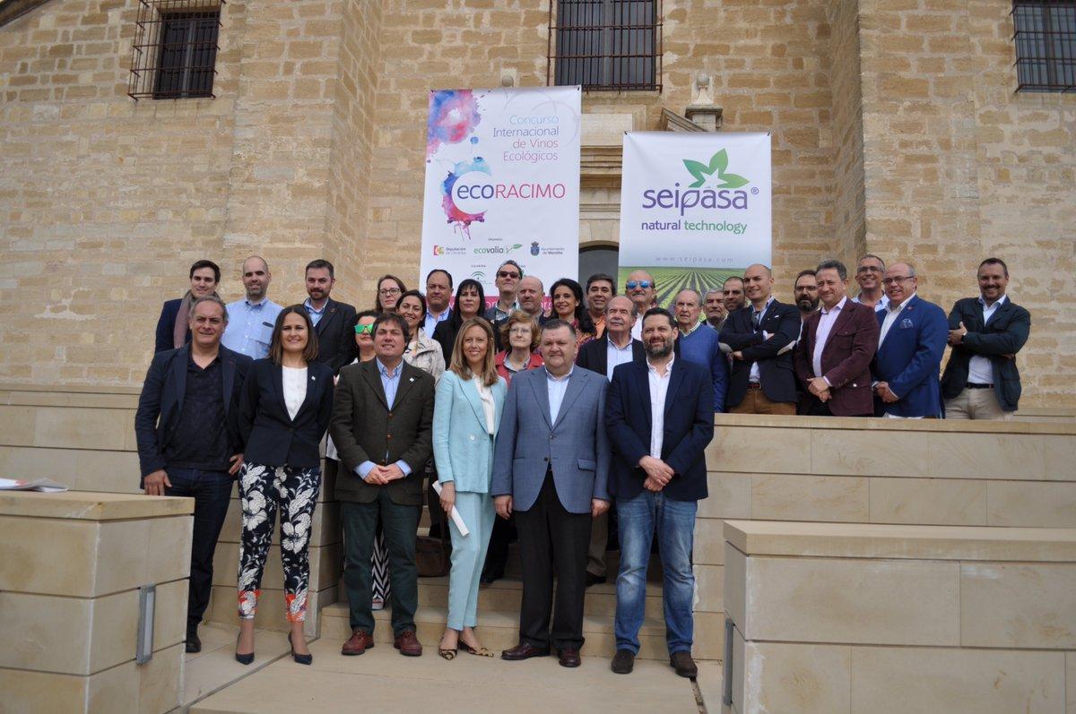 Ecoracimo 2018 / Organización y Panel de catadores en el Castillo de Montilla.