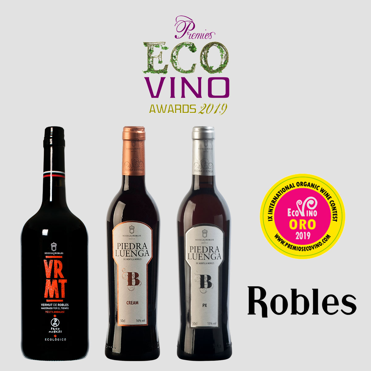 New recognition at Ecovino Awards (La Rioja, Spain)