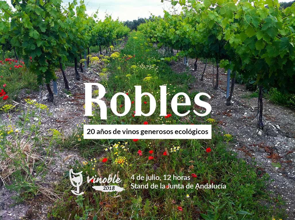 Los vinos generosos ecológicos desembarcan en VINOBLE
