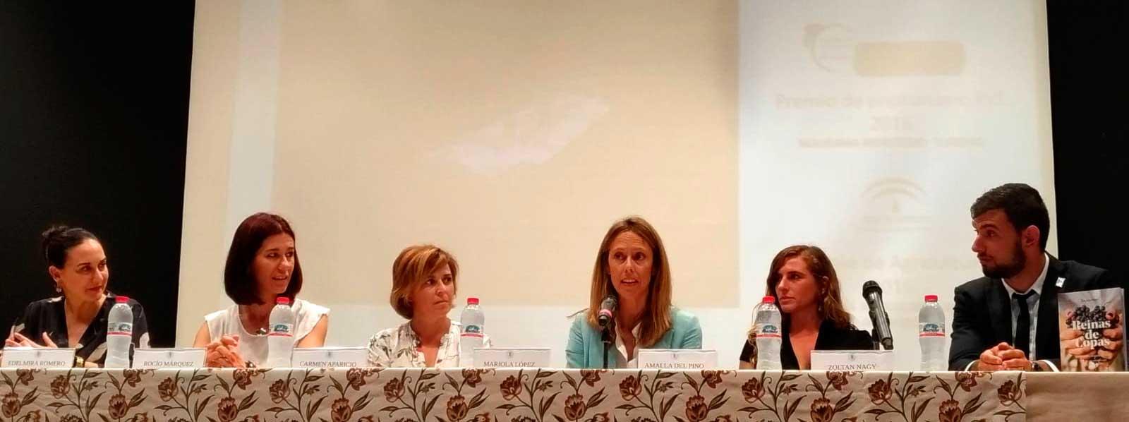 Bodegas Robles en la clausura del Ciclo Superior de Vitivinicultura de Manilva, Málaga