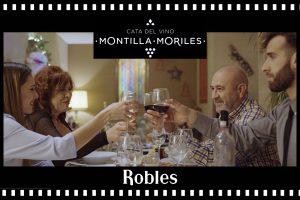 «Robles en el cine» en la Cata del Vino