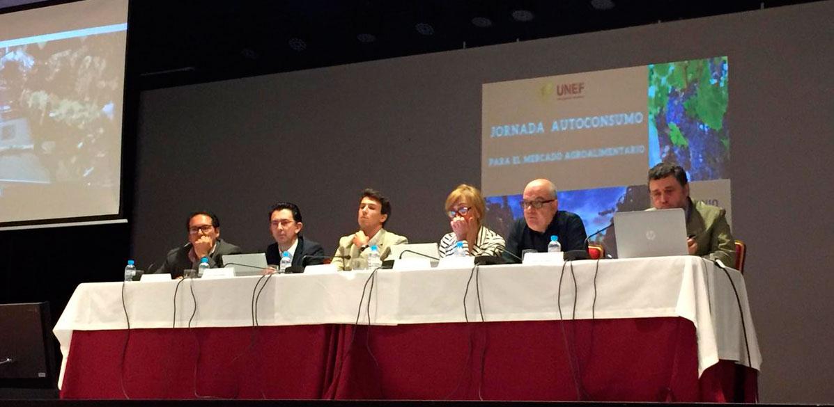 Bodegas Robles en la Jornada UNEF Autoconsumo para el mercado agroalimentario