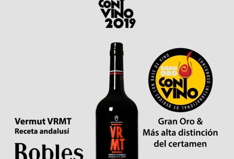 «Vermut VRMT. Receta andalusí» máxima puntuación en CONVINO 2019