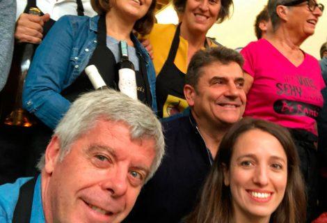 Robles en el encuentro internacional de los vinos rancios