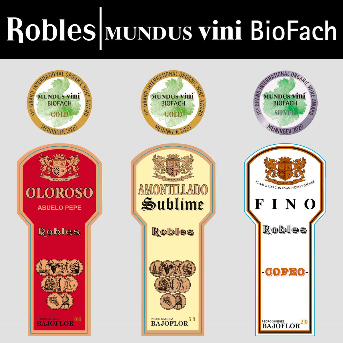 Award winning Mundus Vini Biofach 2020
