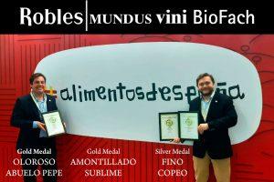 Entrega de premios en Biofach 2020