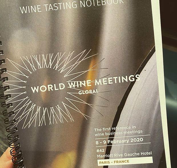 Robles en la World Wine Meetings Paris