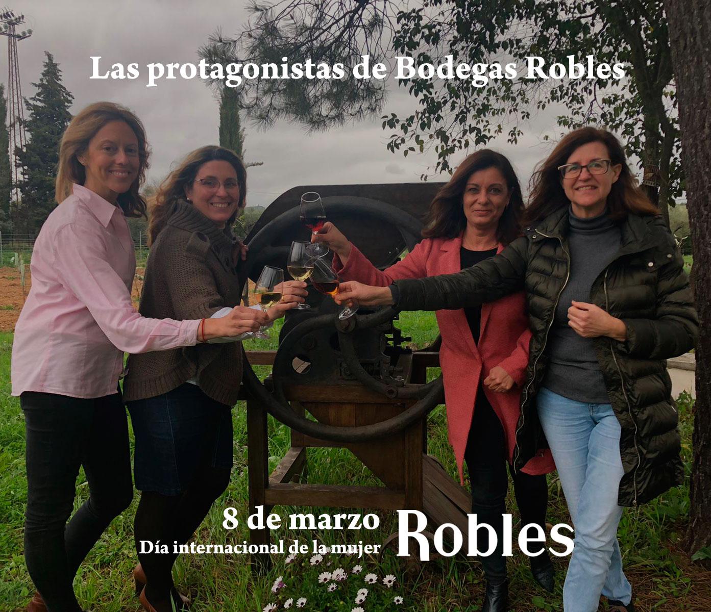 Celebrando a las mujeres en Robles.
