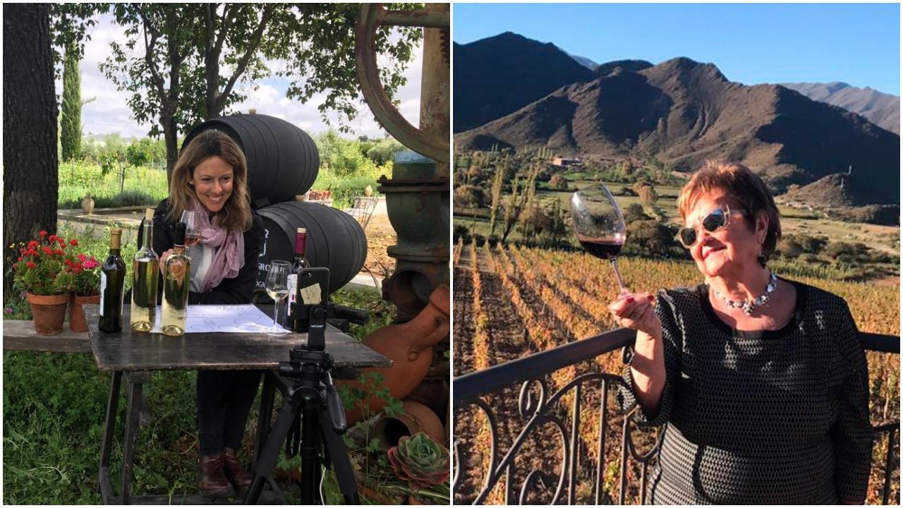 Cata de vino Piedra Luenga Amontillado por Isabel Mijares y Rocío Márquez