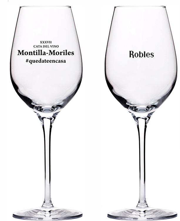 Cata Vino Montilla-Moriles. / Copas