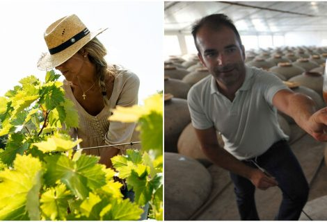 Cata de vino Piedra Luenga Verdejo por Rocío Márquez y Juan Antonio Aguilar