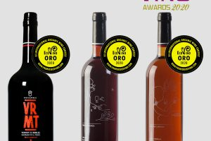Three gold medals at Ecovino 2020 for the organic wines of Bodegas Robles