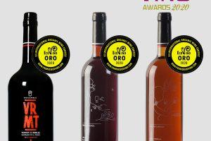 Tres oros en Ecovino 2020 para los vinos ecológicos de Bodegas Robles