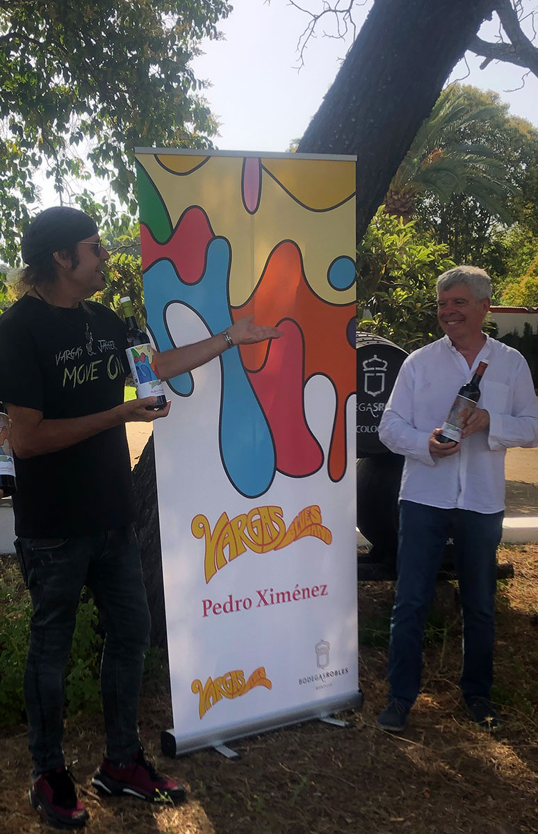 Vargas Blues Band y Bodegas Robles