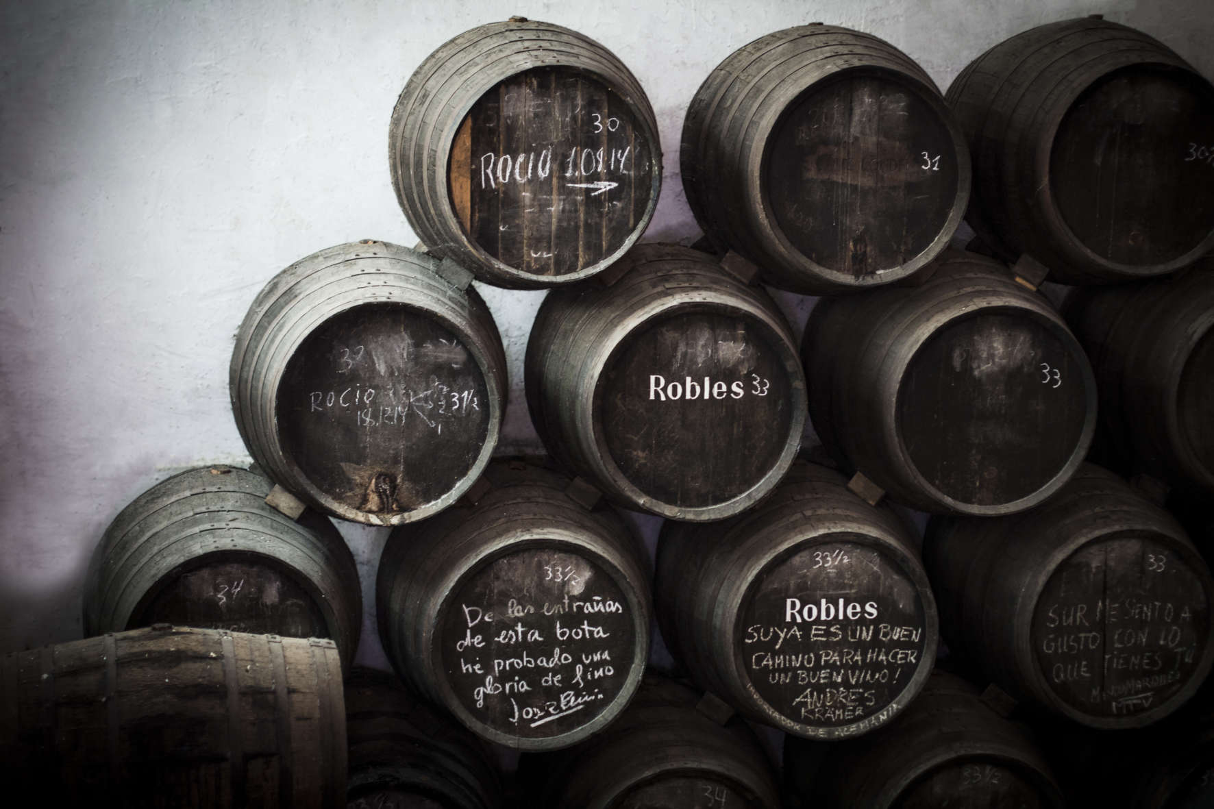 Solera y Criaderas. / Bodegas Robles