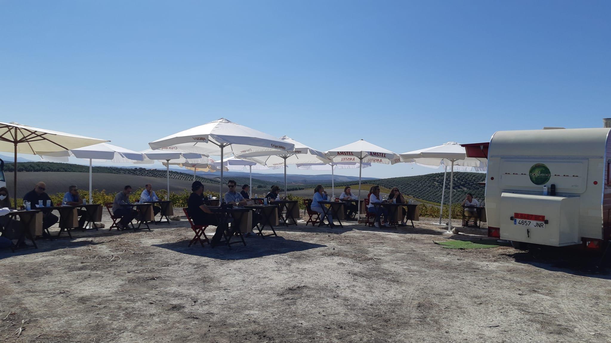 «Consume ecológico en la Campiña Sur» visita Villargallegos