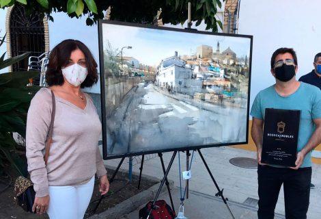 Bodegas Robles patrocina el II Certamen Nacional de Pintura Rápida Villa de Santaella
