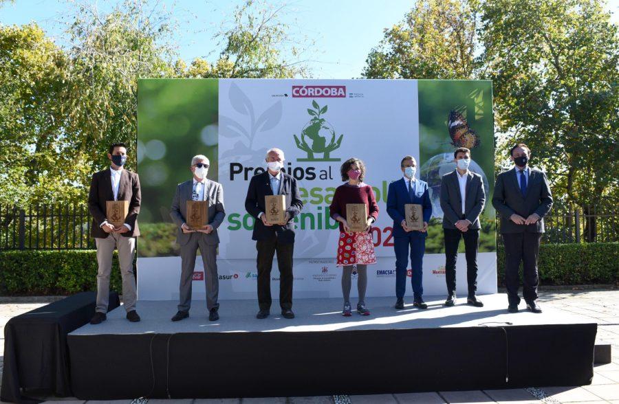 Bodegas Robles galardonada en los Premios al Desarrollo Sostenible por Diario Córdoba