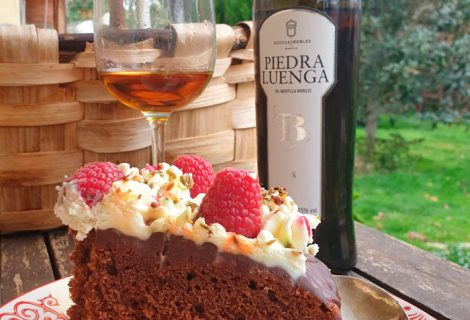 Tarta chocolate al Pedro Ximénez