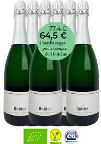 Robles Brut Nature 18: 6 botellas